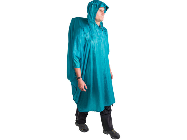 0333b816668 Sea to Summit Ultra-Sil Nano Tarp Poncho, blue | Find outdoortøj ...